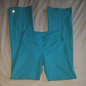 Beyond Yoga Blue Wide Leg Leggings Pants